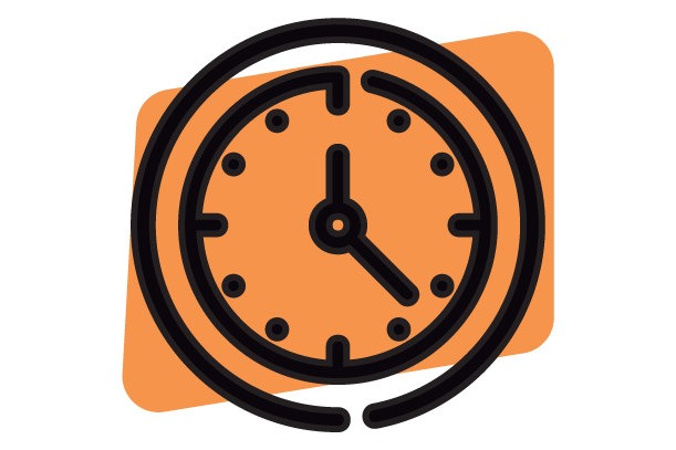 Arrange a Time - Clock